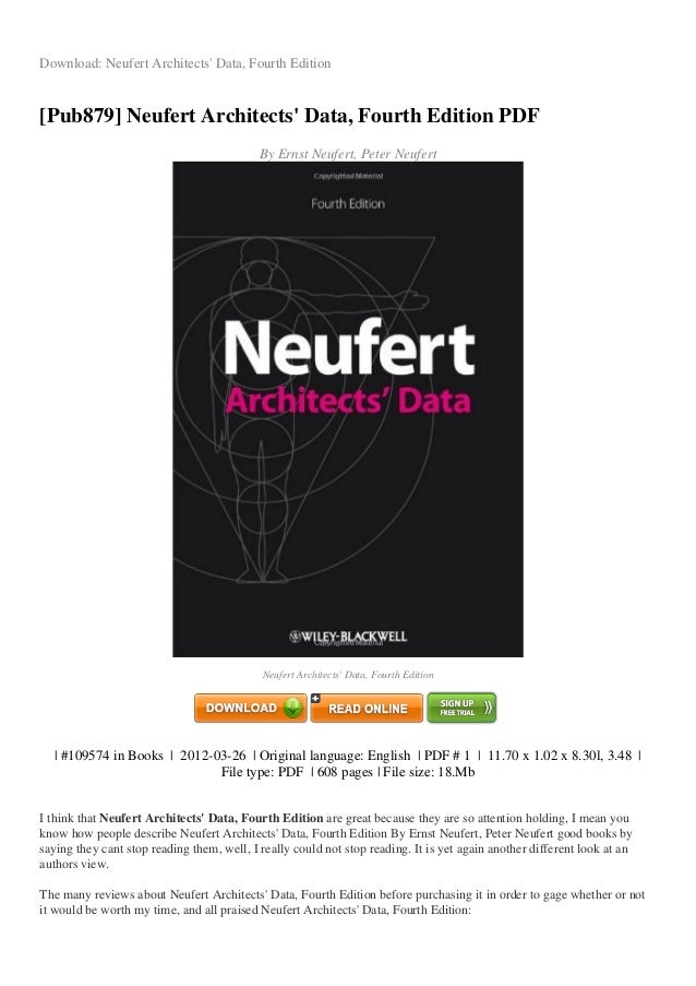 Review neufert architects-data-fourth-edition-pdf-6c297.