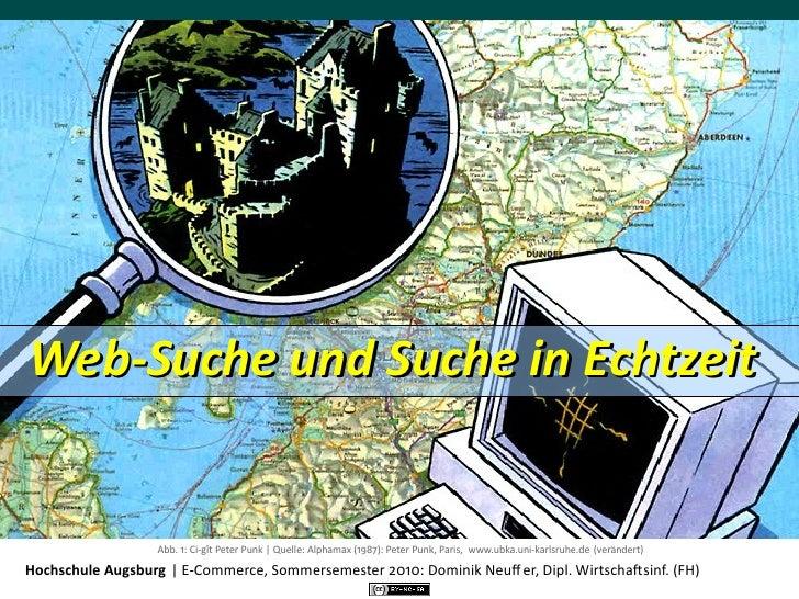 Web-‐Suche und Suche in Echtzeit                        Abb. 1: Ci-‐gît Peter Punk | Quelle: Alphamax (1987)...