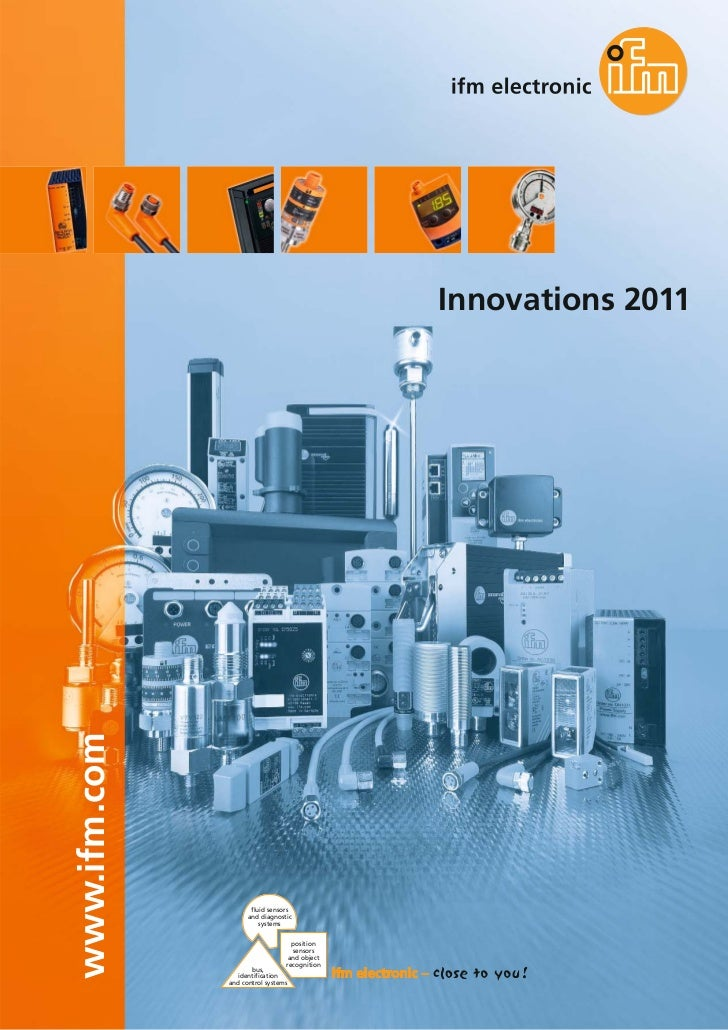 Innovations 2011www.ifm.com                     fluid sensors                    and diagnostic                        sys...
