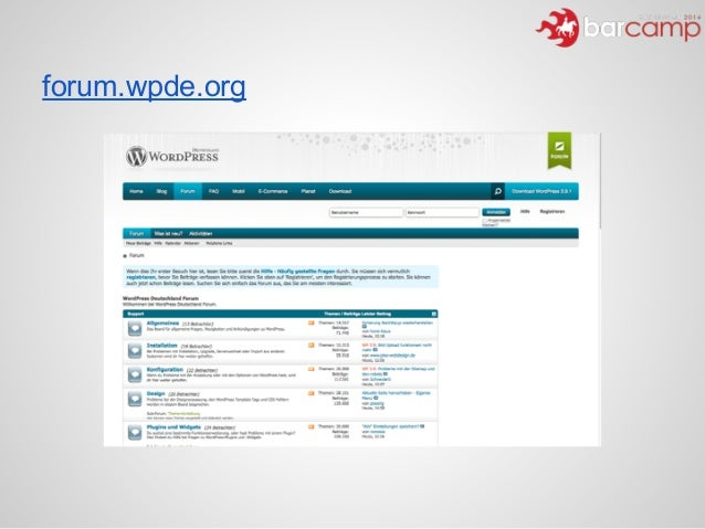 forum.wpde.org