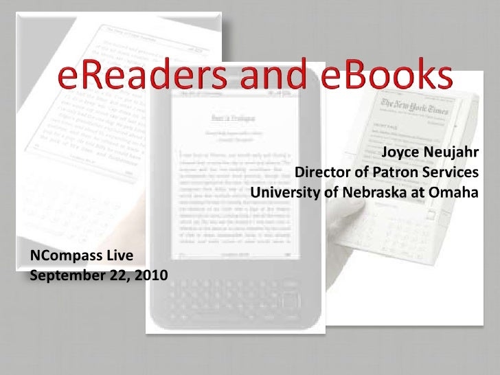 NCompass Live: Tech Talk with Michael Sauers: Circulating E-book Readers at UNO