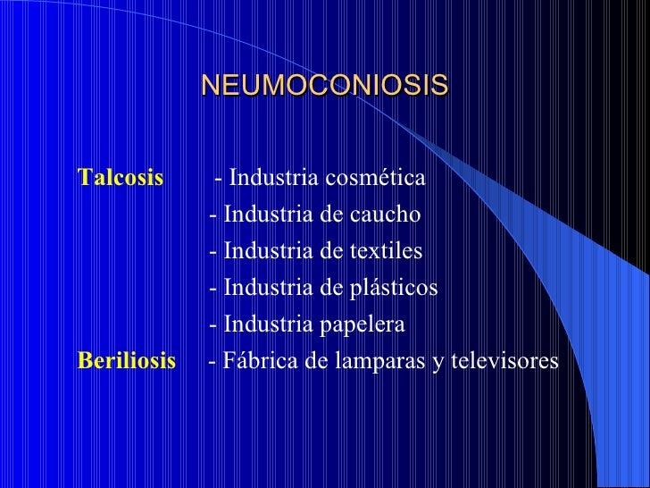 Grados radiológicos   A- Sombras radiológicas que al agruparse no       excedan del equivalente a un tercio del pulmón  ...