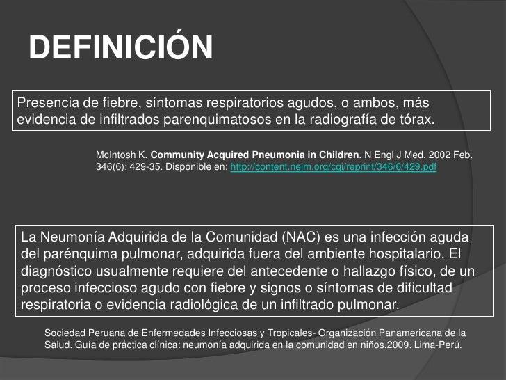Neumonía en pediatría Slide 2