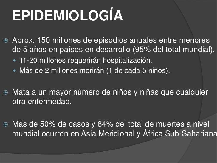 Neumonía en pediatría Slide 3