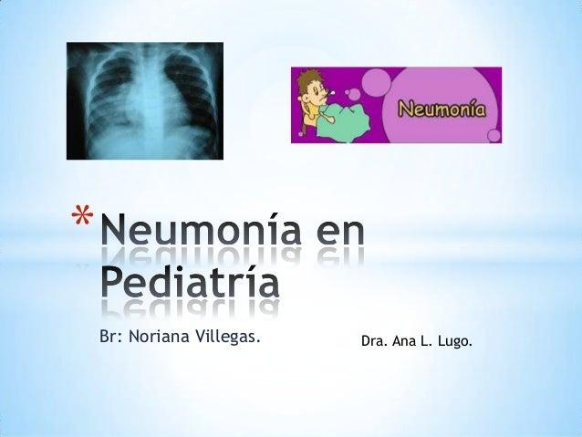*    Br: Noriana Villegas.   Dra. Ana L. Lugo.
