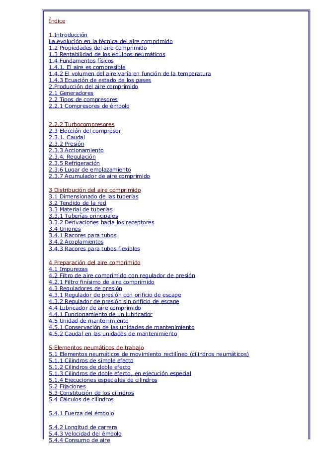 Elementos de trabajo neumáticos simbologia funcionamiento y aplicaciones