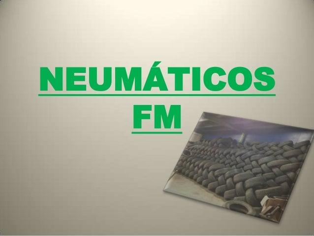 NEUMÁTICOS FM