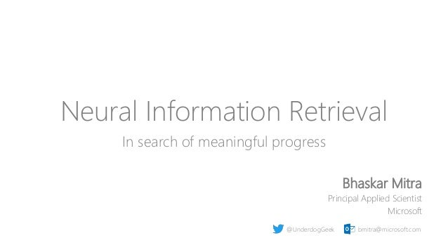 Neural Information Retrieval: In search of meaningful progress