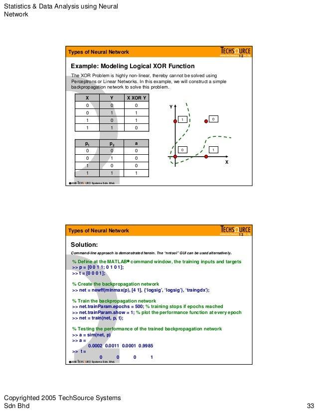 Neural network in matlab
