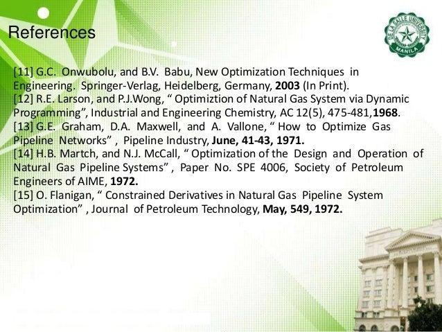 References [11] G.C. Onwubolu, and B.V. Babu, New Optimization Techniques in Engineering. Springer-Verlag, Heidelberg, Ger...