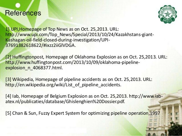 References 1] UPI,Homepage of Top News as on Oct. 25,2013. URL: http://www.upi.com/Top_News/Special/2013/10/24/Kazakhstans...
