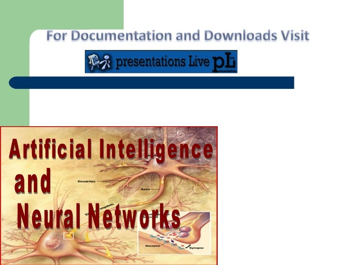 Neural Networks Artificial Intelligence and