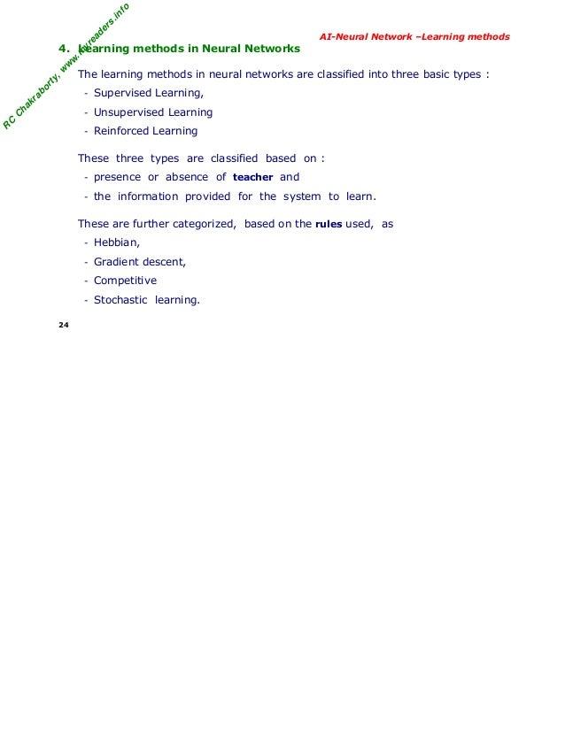 hebbian learning rule in neural network pdf