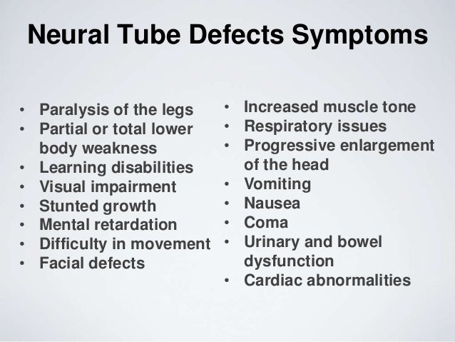neural tube defect