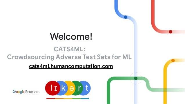 CATS4ML: Crowdsourcing Adverse Test Sets for ML Welcome! ˈl ɪ k ə r t cats4ml.humancomputation.com