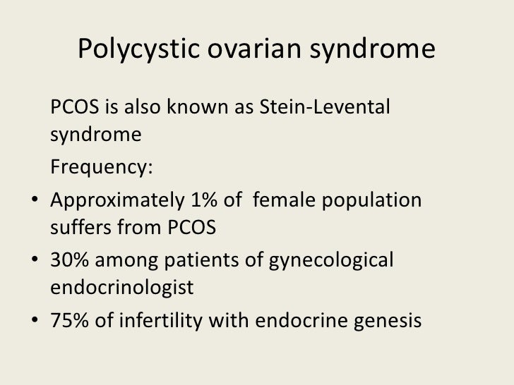 Neuro endocrine syndromes in gynecology Slide 2