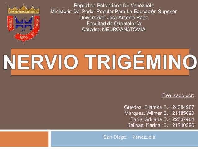 Republica Bolivariana De Venezuela Ministerio Del Poder Popular Para La Educación Superior Universidad José Antonio Páez F...