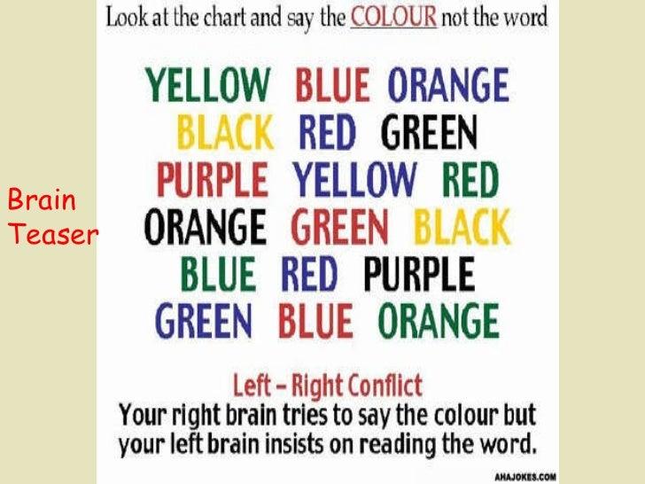 Brain Teaser Brain Teaser