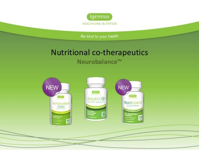 Nutritional co-therapeutics NeurobalanceTM
