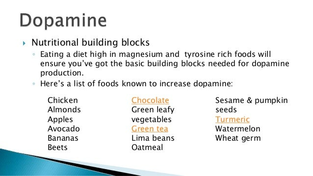 Foods With High Dopamine Content