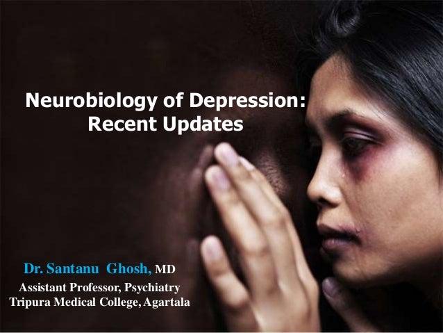 Neurobiology of depression by british medical