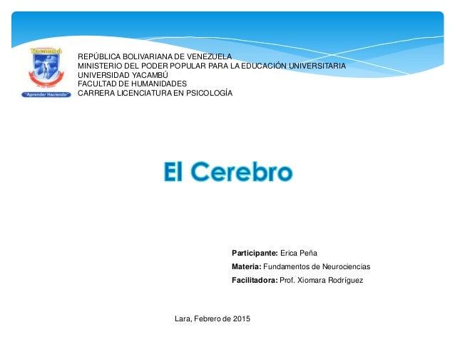 REPÚBLICA BOLIVARIANA DE VENEZUELA MINISTERIO DEL PODER POPULAR PARA LA EDUCACIÓN UNIVERSITARIA UNIVERSIDAD YACAMBÚ FACULT...