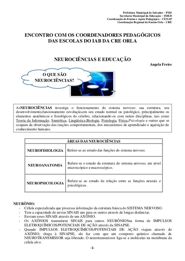 Prefeitura Municipal de Salvador – PMS Secretaria Municipal da Educação – SMED Coordenação de Ensino e Apoio Pedagógico – ...