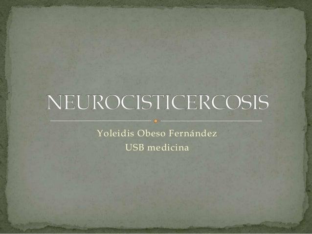 Yoleidis Obeso Fernández USB medicina
