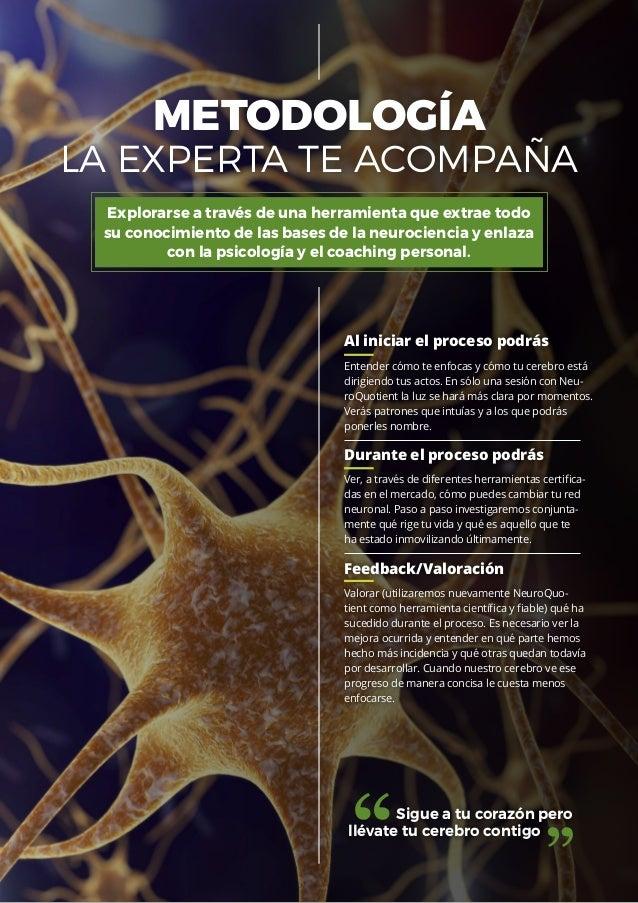 Proceso de Coaching Personal con Neurociencia. Neuroquotient®: la neuro-herramienta que marca la diferencia. Slide 3
