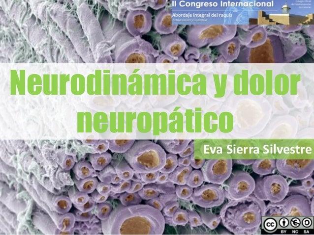 Neurodinámica y dolor neuropático Eva Sierra Silvestre