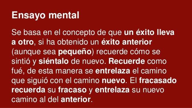 Ley del control Tú controlas tus pensamientos Tus pensamientos controlan tus sensaciones Tus sensaciones controlan tus acc...