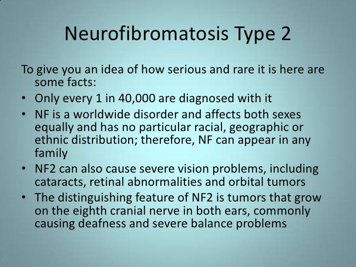 Neurofibromatosis type II  Wikipedia