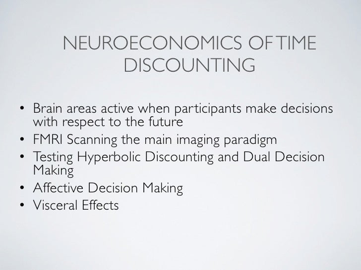 neurofinance how people make decisions Science behind assetlock  when scientists examined the brains of people making investment-like decisions,  neurofinance: what goes on in .