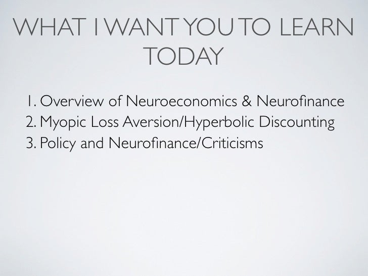 neurofinance how people make decisions Emotion is not just part of, but necessary to decision-making, researchers say, and our own expectations determine the choices we make emotion is not just part of, but necessary to.
