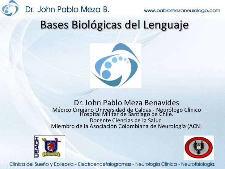 Funciones Cognitivas<br />Dr. John Pablo Meza Benavides<br />Neurólogo Clínico Hospital Militar de Santiago de Chile.<br /...