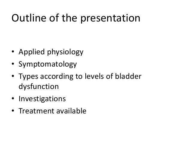 Neurogenic bladder Slide 2
