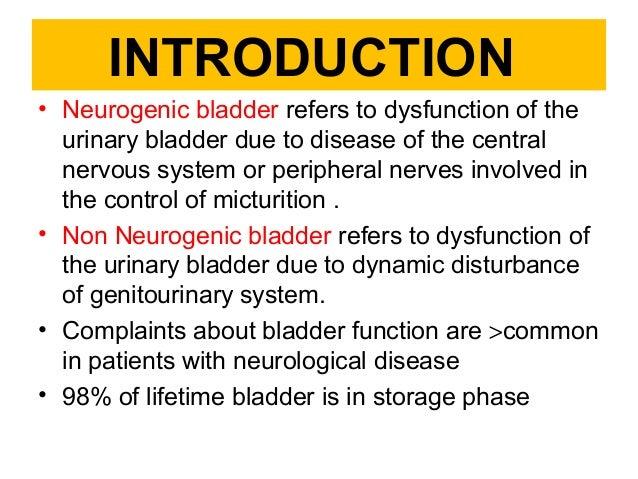 case study neurogenic bladder