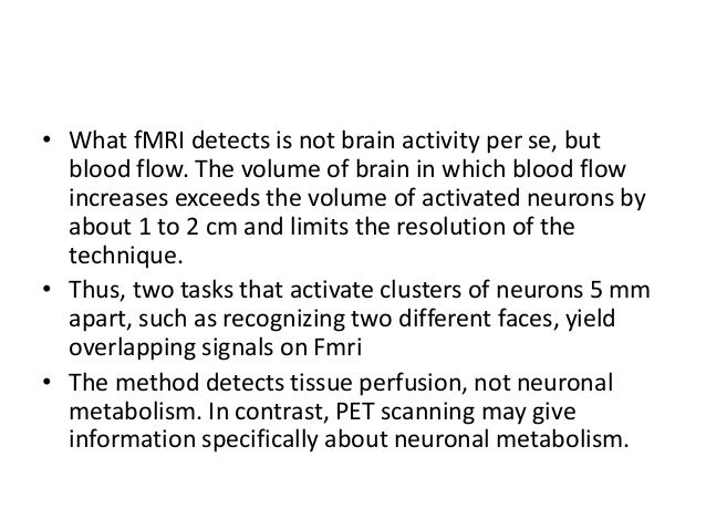 MRS(magnetic resonance spectroscopy)  Whereas MRI detects Hydrogen nuclei to determine anatomical structure of brain.  M...