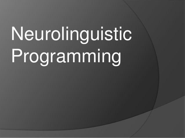 NeurolinguisticProgramming