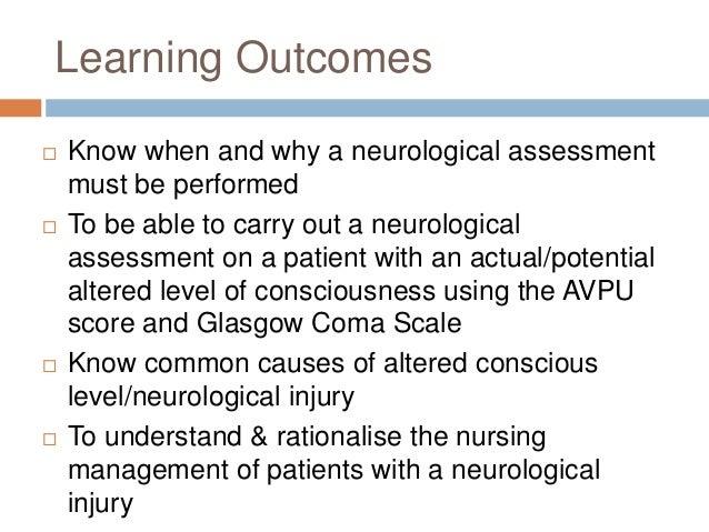 Neurological assessment For Nurses Slide 2