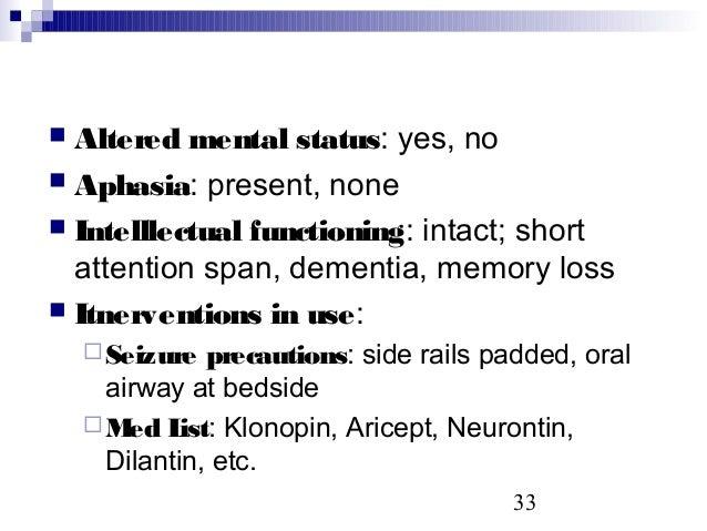 Neurological Assessment Sp07 Webversion