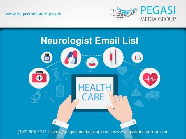 Neurologist Email List