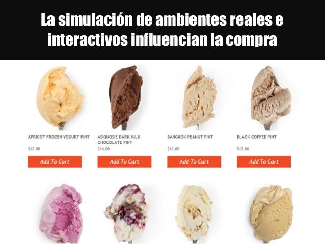 La simulación de ambientes reales e interactivos influencian la compra