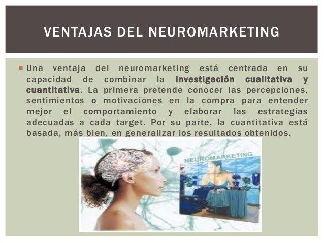  La clave reside en obtener la mayor información objetiva acerca de cómo funciona el cerebro de los usuarios y encontrar ...