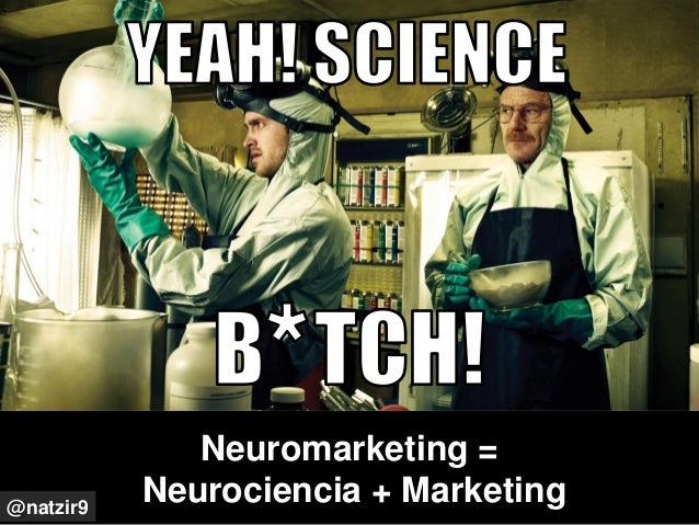 Neuromarketing = Neurociencia + Marketing@natzir9