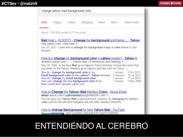 #CTSev - @natzir9 ENTENDIENDO AL CEREBRO