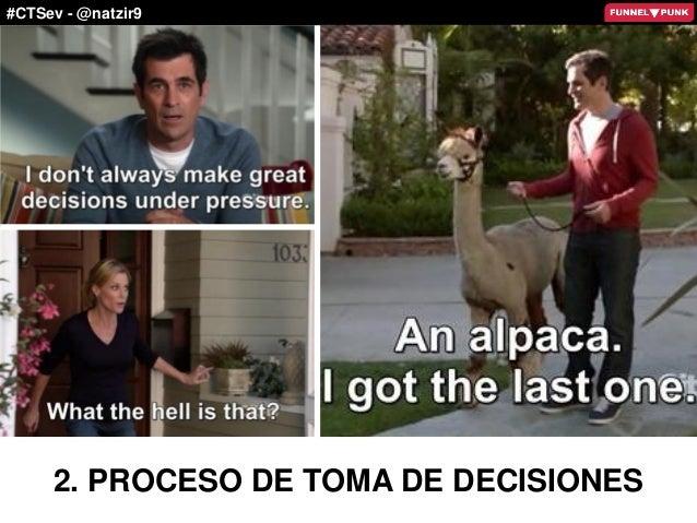 #CTSev - @natzir9 2. PROCESO DE TOMA DE DECISIONES