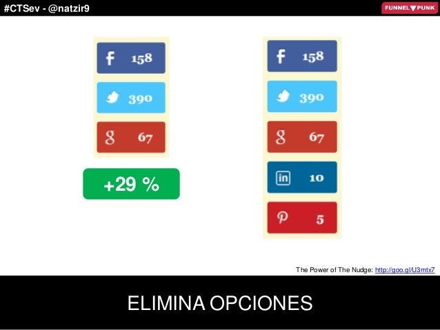 #CTSev - @natzir9 ELIMINA OPCIONES +29 % The Power of The Nudge: http://goo.gl/U3mtx7