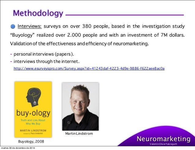 essay on neuromarketing The aim of this research paper is to explore whether the use of the new field of marketing research which called neuromarketing can magnify u.