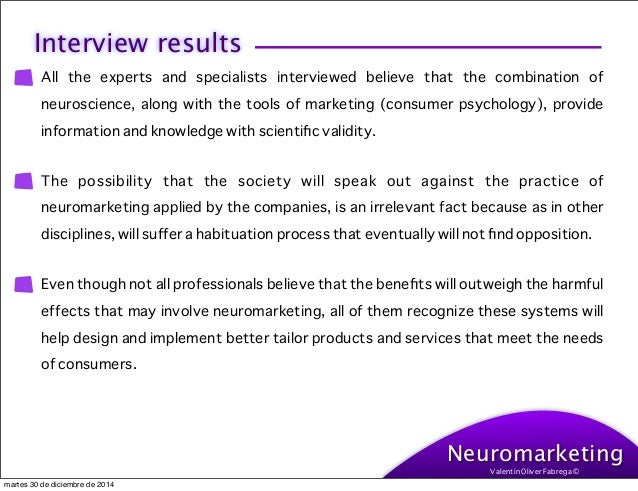 neuromarketing thesis topics